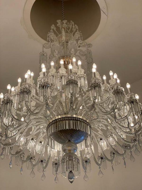 Spectacular Large Baccarat crystal chandelier